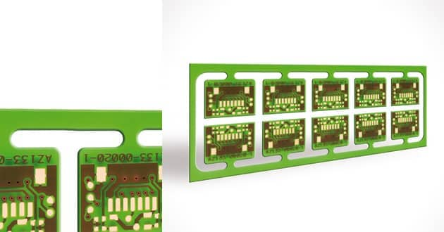 Double sided PTH PCB